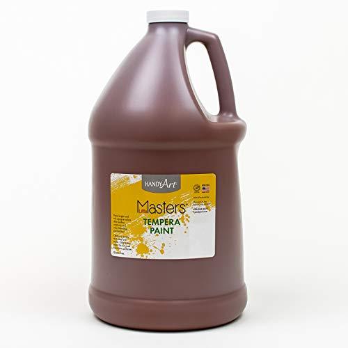 Handy Art Little Masters Tempera Paint Gallon, Brown