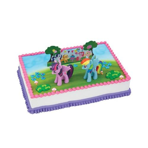 Magnificent A1 Bakery Supplies My Little Pony Its A Pony Party Cake Funny Birthday Cards Online Alyptdamsfinfo