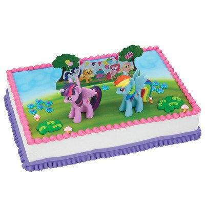 A1 Bakery Supplies My Little Pony It's a Pony Party Cake Decorating...