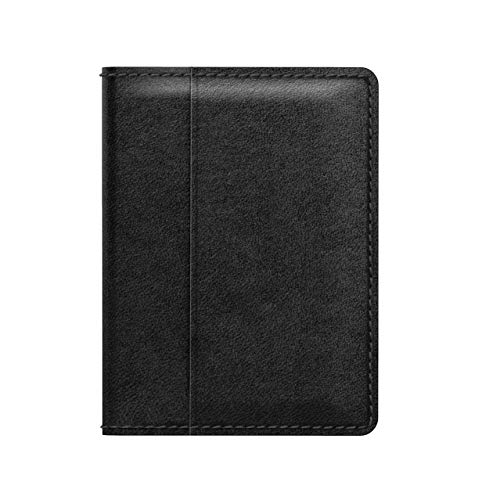 Nomad Wallet with Integrated Tile Tracker | Black Horween Leather