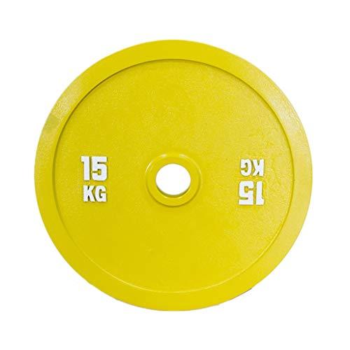 AILI Pesas de Disco Discos de Pesas para Musculación Un par de Placas de Acero Pegatina Olímpico Barbell Pesos Platas de Gimnasio en casa Discos de Pesas Fitness y Ejercicio Musculación ⭐