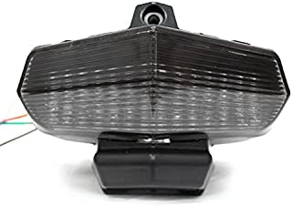 Krator Smoke LED Tail Light Integrated with Turn Signals For 2004 Ducati 749/999 / Multistrada