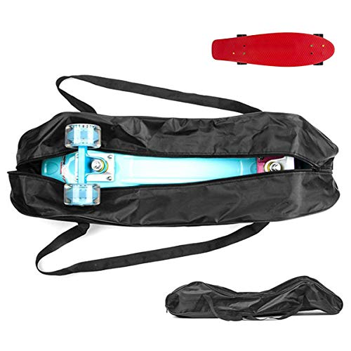 Grist CC Skateboard Rucksack mit Tasche und Skateboardschutz 83 * 25 cm / 32 * 10 Zoll für Pennyboard
