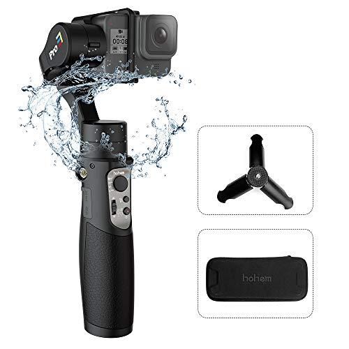 Hohem Isteady Pro 2 Palmare 3-Axis Handheld Gimbal Stabilizzatore,Sospensione Cardanica per GoPro Hero 7/6/5/4/3,Sony RX0,OSMO Action,Yi Cam,SJCAM sport Cam Action Camera,12H Run-time,Super Leggero