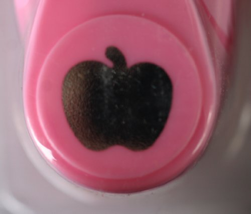 Motivlocher Mini 1,6 cm Motiv Apfel