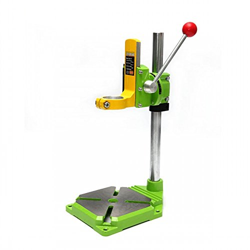 ABEST Drill Press Rotary Tool Work Station Drill Press Working Station for Drill Workbench Repair Drill Press Table 90°Rotating Fixed Frame