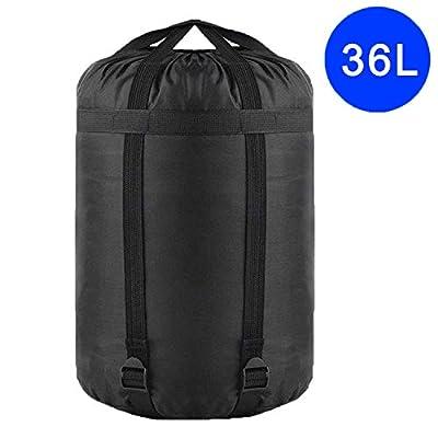 TINANA Compression Stuff Sack, Waterproof Sleeping Bags Storage Stuff Sack Organizer, Great for Backpacking and Camping Hiking