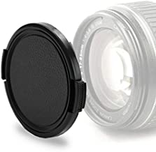 CELLONIC Lens Cap  front  compatible with Voigtlaender Nokton Ultron  Snap On  Outside handle Side Pinch Protective Cover Lid