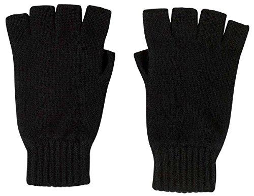 Johnstons of Elgin Herren Handschuhe , Schwarz