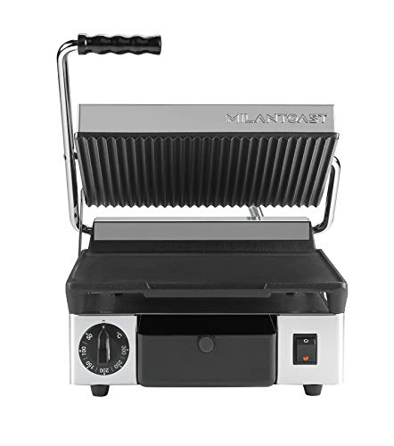 Contactgrill medium glad/geribd Milan Toast 16001