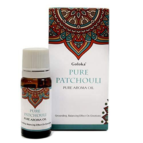 Etherische olie patchouli donker glas schroefdop met doseerder 10 ml