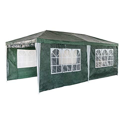 Aktive 53994 Carpa plegable Garden color verde