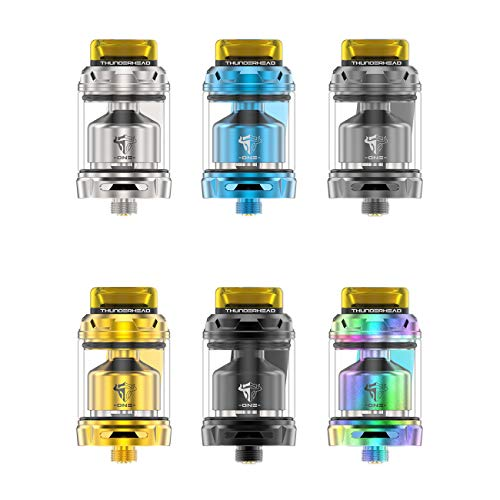 Original Thunderhead Creations Tauren One RTA 2ml/4.5ml Capacity 24mm Rebuildable Tank Single Coil Building 3D Honeycomb Airflow System (SS)