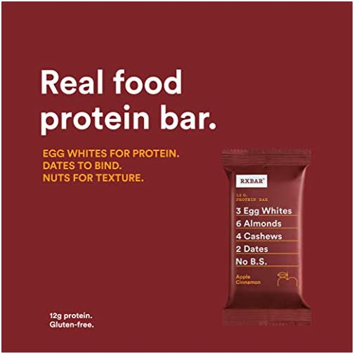 RXBAR, Banana Chocolate Walnut, Protein Bar, 1.83 Ounce (Pack of 12), High Protein Snack, Gluten Free 5