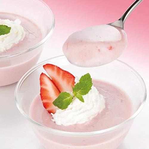いちごミルクプリンの素 200g(rns244175)混ぜて冷すだけの簡単調理!
