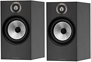 B&W (Bowers & Wilkins) Bookshelf Speaker 606MB (Matte Black) (1Pair)【Japan Domestic Genuine Products】 【Ships from Japan】
