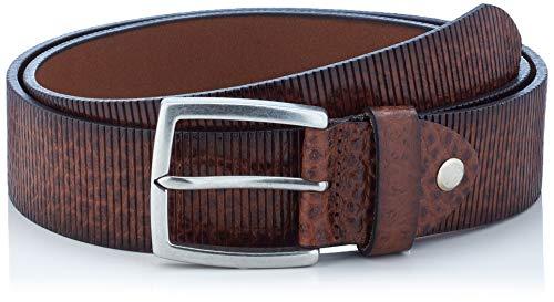MLT Belts & Accessoires Phoenix - Ceinture - Homme, Marron (cognac 6008), 90 cm