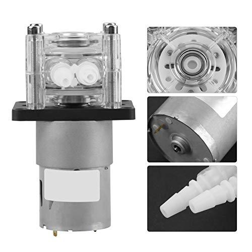 【𝐒𝐞𝐦𝐚𝐧𝐚 𝐒𝐚𝐧𝐭𝐚】 Bomba peristáltica de líquido, bomba peristáltica en miniatura, mini bomba dosificadora dosificadora para análisis de laboratorio de acuarios