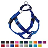 Freedom No Pull Dog Harness, Harness ONLY (Blue, Medium (1' wide)