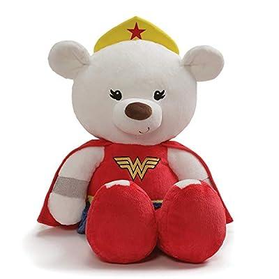 "GUND Jumbo Fuzzy Wonder Woman Plush Stuffed Bear, 25"""