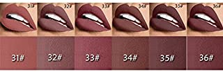 6 PC Set 3D Fantastic Moisture Nude Matte Lipsticks Pack- all colors for you to choose from (set 6)
