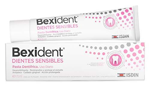 Isdin Bexident Dientes Sensibles Pasta Dentrífica, Uso diario, Combate la hipersensibilidad dental 1 x 75 ml