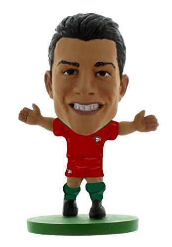 SoccerStarz Portugal Cristiano Ronaldo Home Kit/Figuren, 5 cm