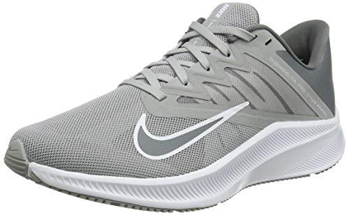 Nike Herren Quest 3 Running Shoe, Light Smoke Grey/Smoke Grey-White, 45 EU