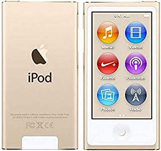 Iplayer iPod Nano 7th Generation Gold 16gb with Generic Accessories Non Retail Packaging