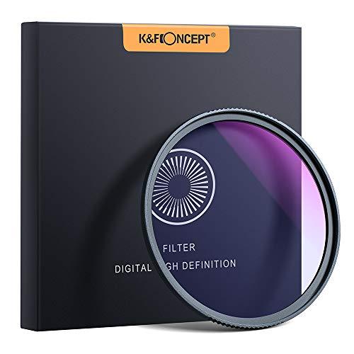 K&F Concept Nano Nachtlicht Filter 67mm Astroklar Filter Light Pollution Filter für Nachtaufnahmen Astrofotografie