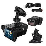 WATPET Full Range Auto Mobile Car DVR Camera Recorder 2 In1 Dash Cam Video Registrator with Anti Speed Radar Detector Accurate Identification (Color Name : Radar DVR 2 in 1)