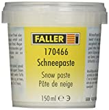 Faller 78 306 - Pasta de Nieve, Accesorio para maquetas de ferrocarril, construcción de maquetas, 150 ml