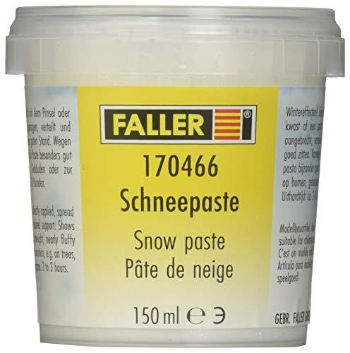 Faller 78 306 - Schneepaste, Zubehör für die Modelleisenbahn, Modellbau, 150 ml