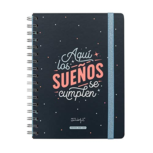 Agendas 2020-2021 Baratas Marca Mr. Wonderful
