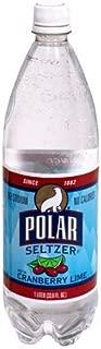 Polar Seltzer 33.8 Fl. Oz, (Pack of 12) (Cranberry Lime)