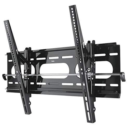 Hama TV-Wandhalterung TILT XL neigbar, Bildschirmdiagonale 94 - 160 cm (37 - 63 Zoll), Traglast 75 kg, VESA 800 x 400, schwarz