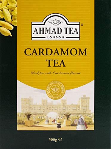Ahmad Tea Cardamom Té negro con cardamomo, hojas sueltas 500g