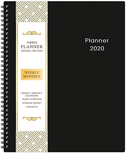 "2020 Planner - 9.2"" x 11"" Weekly..."