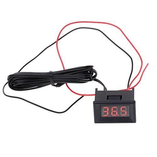 siwetg LED Digital Thermometer Auto Sonde Kühlschrank Gefrierschrank Temperatur -40~120C Grad DIY