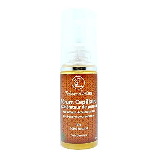 BALLA - Sérum Accélérateur de pousse des cheveux aux huiles ayurvédiques bio et naturel 60ml