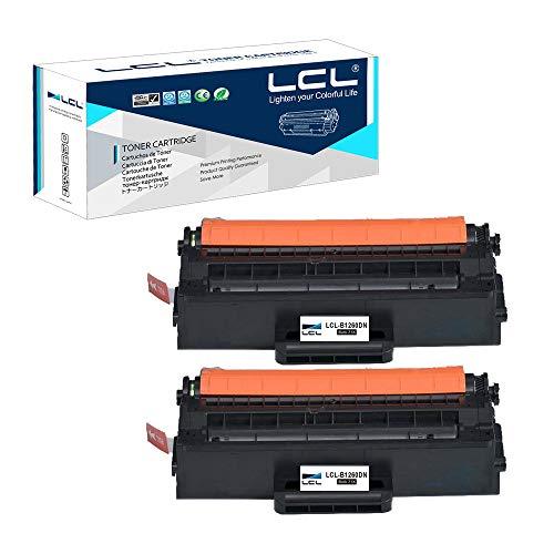 LCL Compatible Toner Cartridge B1260DN B1260DNF B1265DNF B1265DFW 593-11109 RWXNT DRYXV High Capacity (2 Black) Replacement for Dell B1260 B1260dn B1265dnf