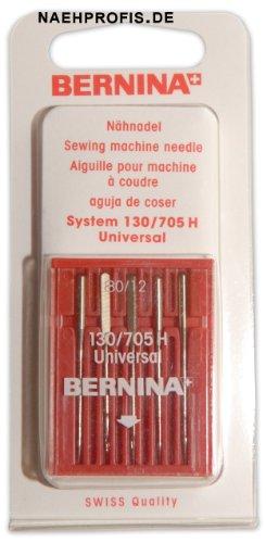 BERNINA Nadeln für Webware, Stärke 80/12, Universal-Nadeln