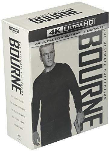 The Ultimate Bourne Collection [4K UHD Blu-ray + Blu-ray + Digital HD]