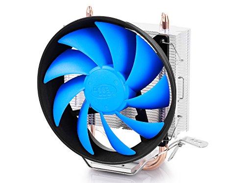 DeepCool GAMMAXX 200T Procesador Enfriador - Ventilador de PC (Procesador, Enfriador, Socket 754, Socket 939, Socket 940, Socket AM2, Socket AM3, Socket AM3, Socket AM3+, Socket FM1,..., Intel Celeron, Intel Celeron G, Intel Pentium, Intel Pentium G, AMD Phenom II X2, AMD..., 12 cm, 900 RPM)