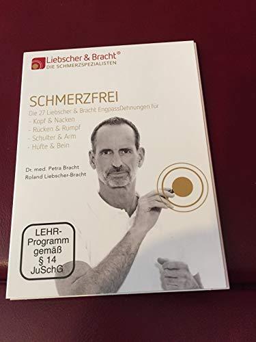 """Liebscher & Bracht DVD """"Schmerzfrei"""" / NEU / mit Übungen zur Engpassdehnung, aufbauend auf Yoga und Faszien-Training (bei Kopfschmerzen, Verspannungen, Rücken- Armgelenks- und Beinproblemen)"""