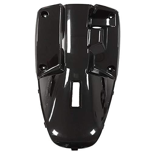 one by Camamoto cod. 77365998 plastica paragambe/contro scudo di colore nero lucido (come l'originale) compatibile con yamaha bw's original/mbk booster spirit 50cc anno dal 1990 al 2003