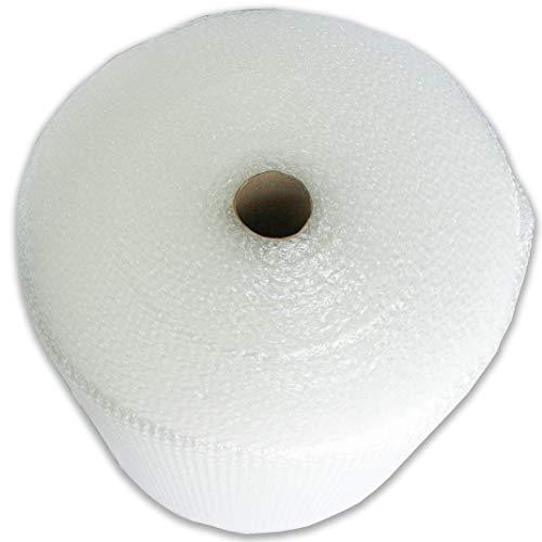 Beufirst Papel burbuja. Rollo de papel de burbuja de 0,50mt de ancho x 75mt de largo (0,5mt x 75mt). Alta protección para mudanzas, embalajes, transporte y productos frágiles