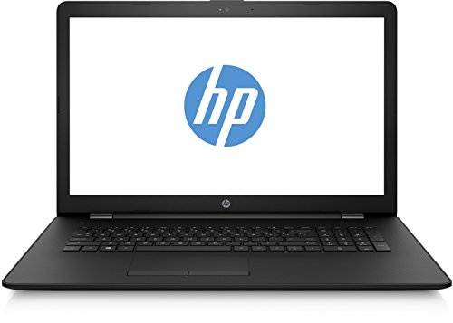HP 1UQ33EA#ABD 17-bs011ng (17,3 Zoll / HD+ SVA) Laptop (Intel Core i3-7100U, 8 GB RAM, 1 TB HDD, Intel HD Grafik, Windows 10 Home 64) schwarz