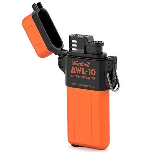 WINDMILL(ウィンドミル)ライターAWL-10ターボ防水耐風仕様オレンジ307-0044307-0044