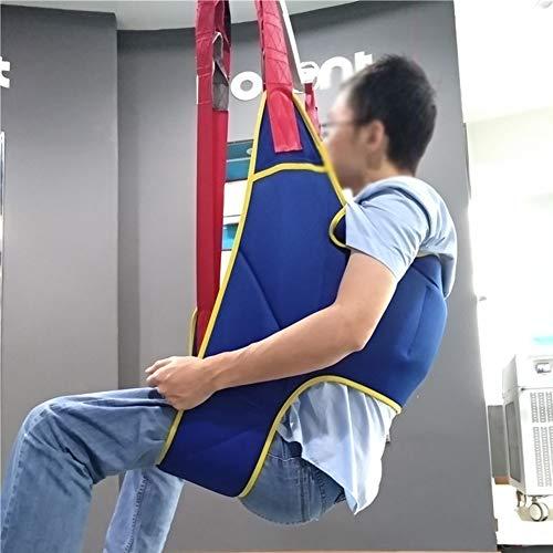 41hhfc2r4YL - WPY Arnés De Elevación De Paciente De Cuerpo Completo, Paciente Cinturón De Transferencia con Ajustable Altura para Posicionamiento Y Elevación De La Cama,Enfermería